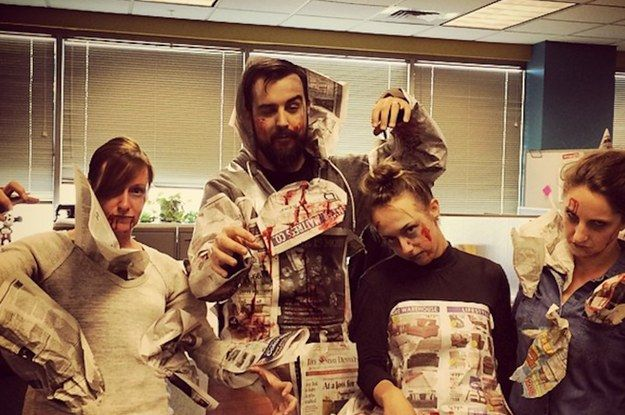 28 Office Costumes That Are Ruling Halloween Costumes and - halloween costume ideas for the office