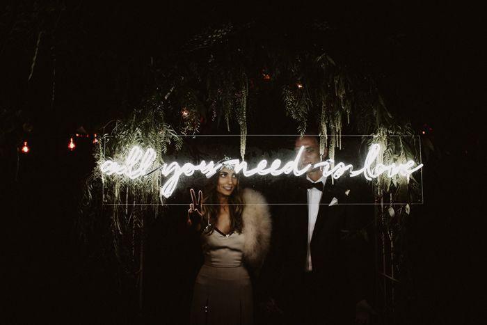 Sie werden die böhmische Stimmung bei dieser Hochzeit in Palm Springs lieben   – Intimate Wedding Inspiration