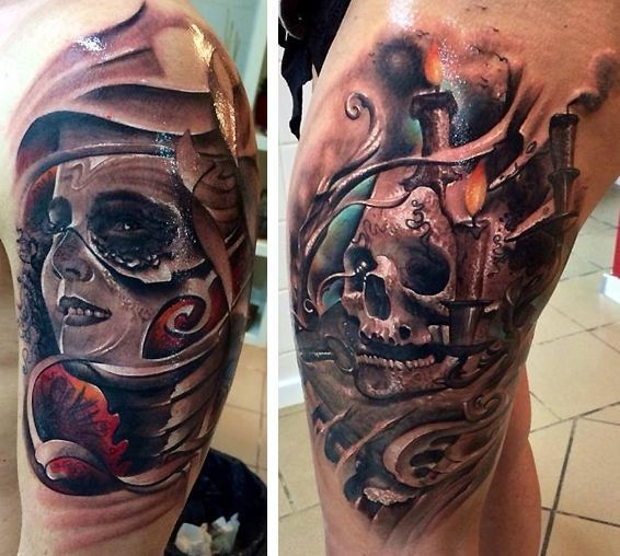 Paul Munteanu | Polytattoo | Photo Realistic Tattoo ...