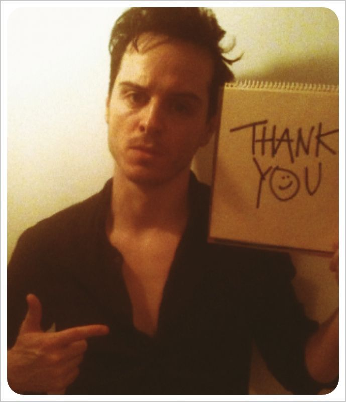 Andrew Scott     dat Moriarty