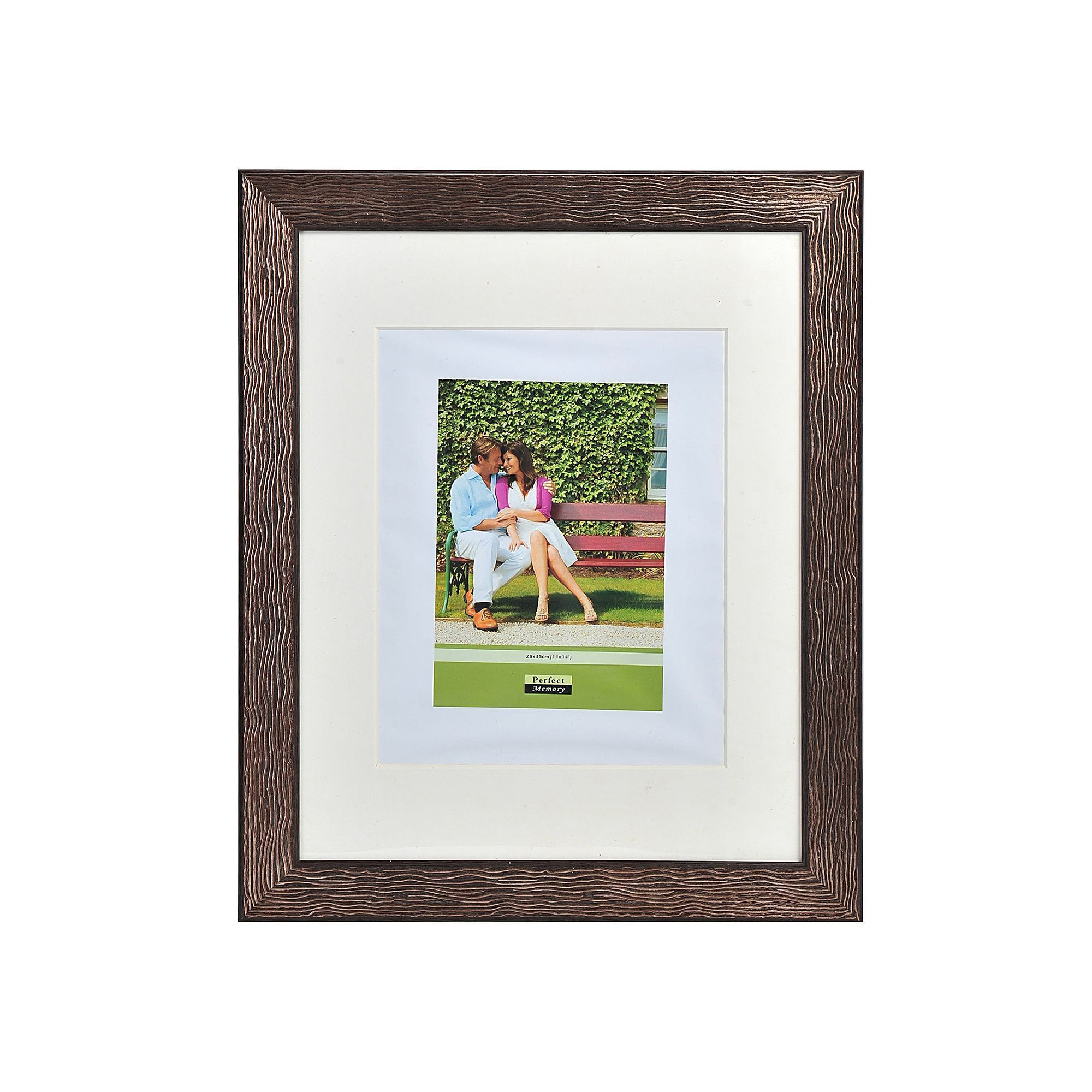 Melannco 16\'\' x 20\'\' / 11\'\' x 14\'\' Portrait Frame, Brown | Products
