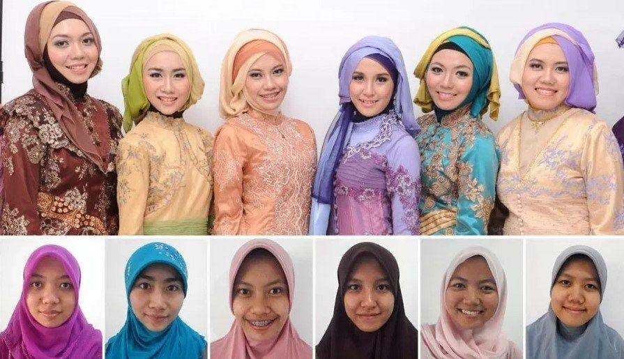 Tutorial Memakai Hijab Untuk Lebaran Gaya Hijab Kebaya Dada