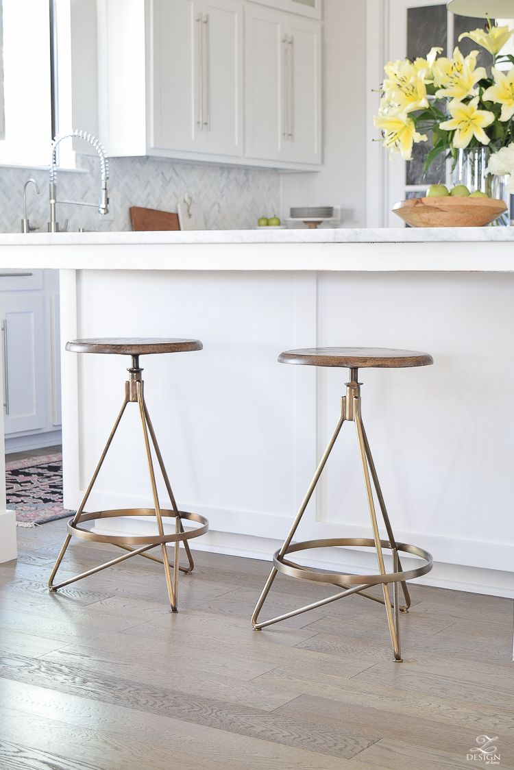 The Best Modern Farmhouse Bar Stools An Update On Mine Bar