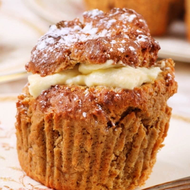 A Delicious recipe for custard filled muffins Great enjoyed with a - Unitec Küchen Katalog