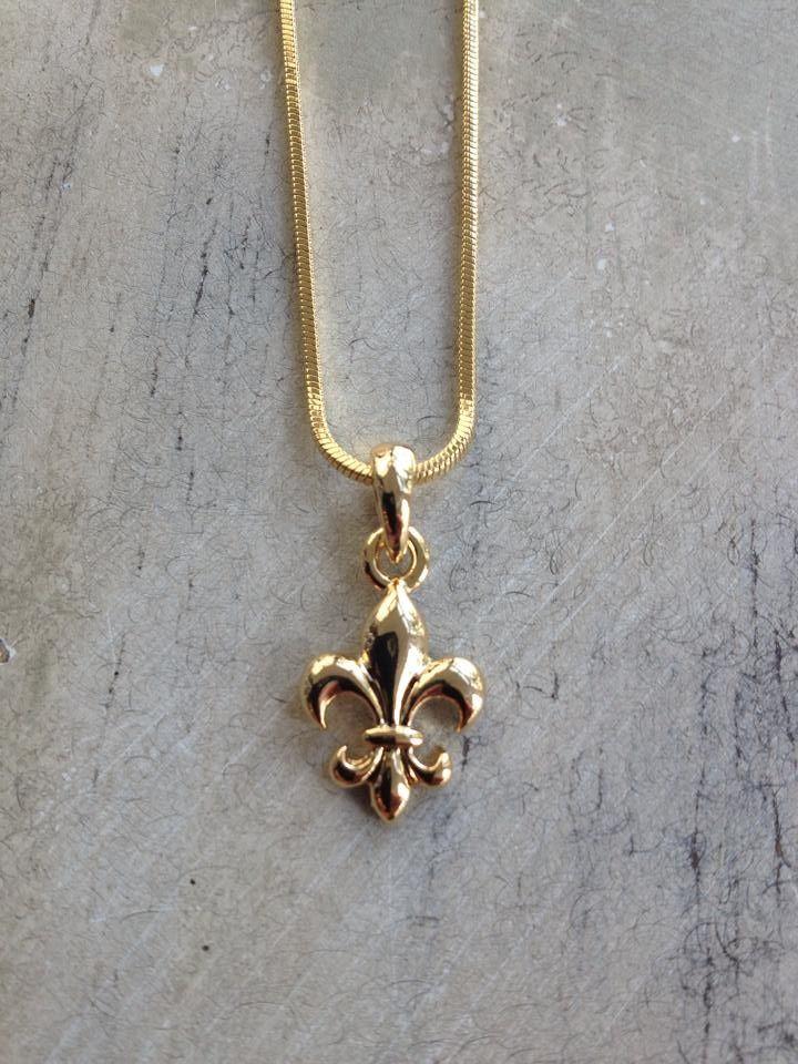 Fleurty girl everything new orleans gold mini fleur de