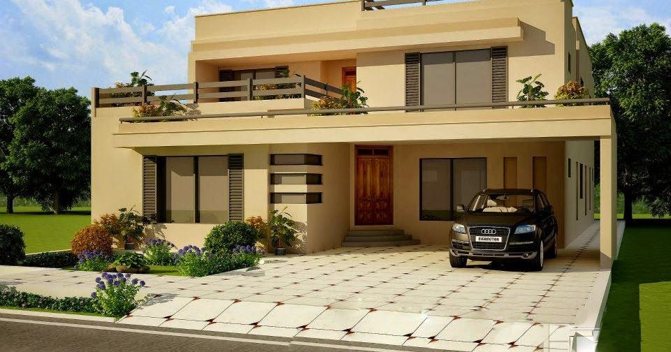 Beautiful House Front Pictures In Elevation Of Pakistani House Pakistan Most Beautiful Houses In Pakist Small House Front Design House Front House Front Design