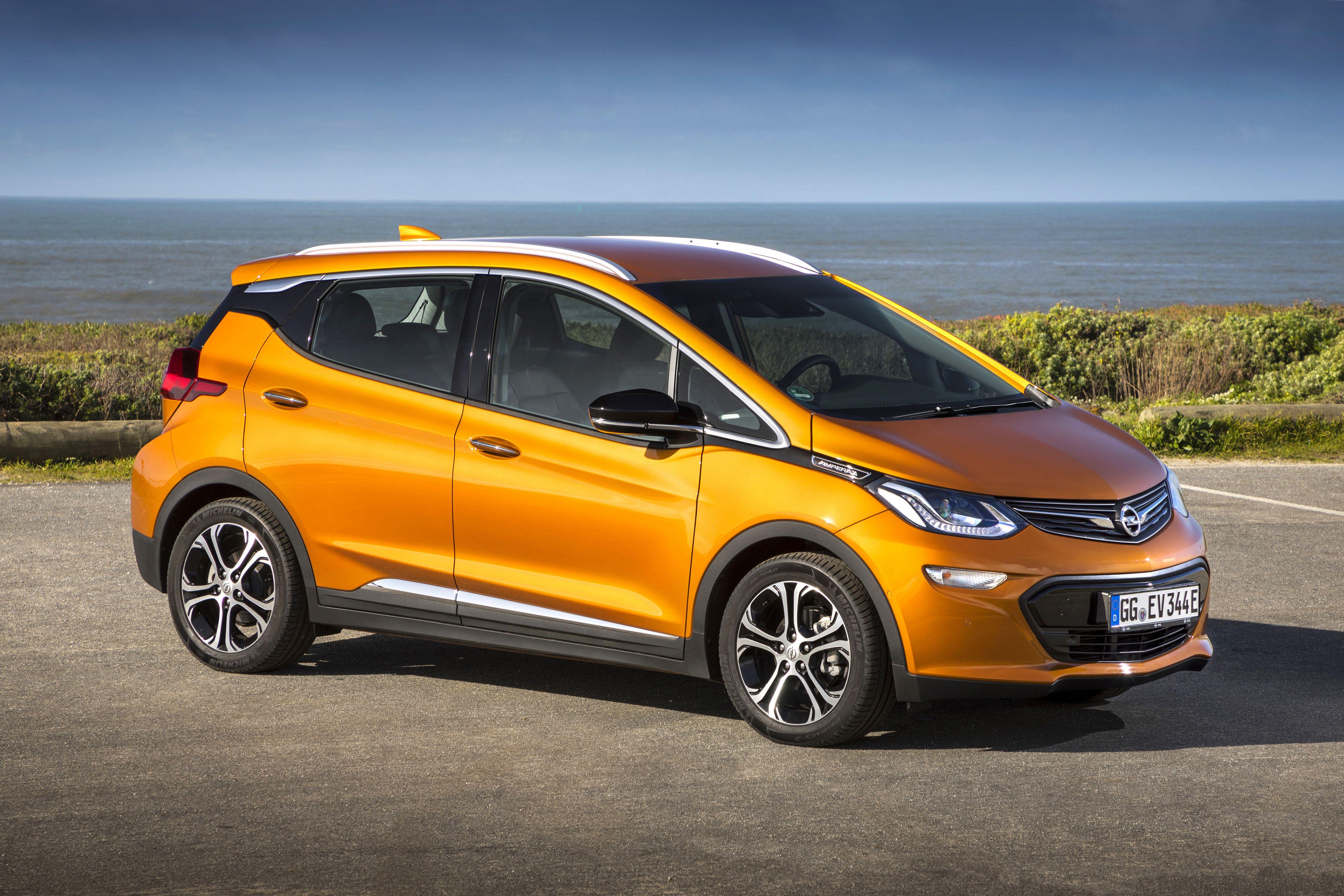 Opel ampera e hat platz wie ein kompakter und eine praxis reichweite fast