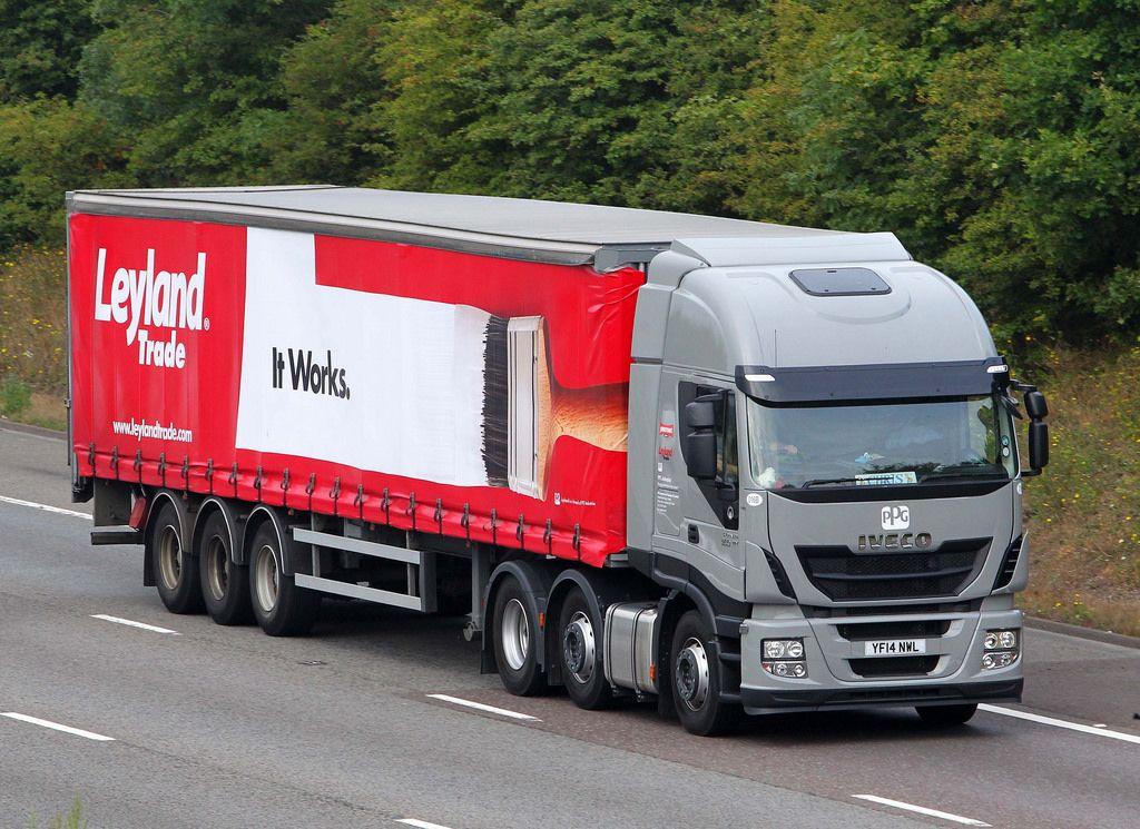 Iveco Stralis Hi Way YF14 NWL Trucks, Commercial vehicle