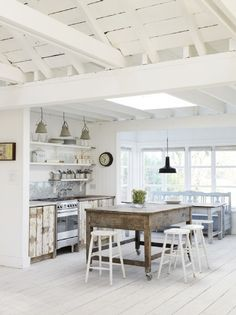 Images Rustic Beach House Kitchens