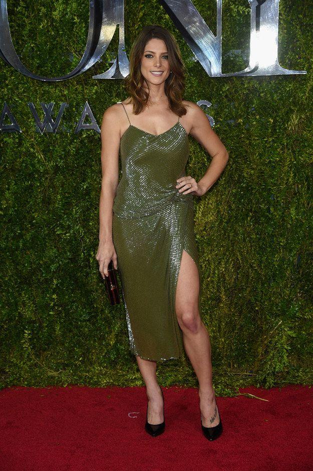 Ashley Greene | All The Looks From The 2015 Tony Awards