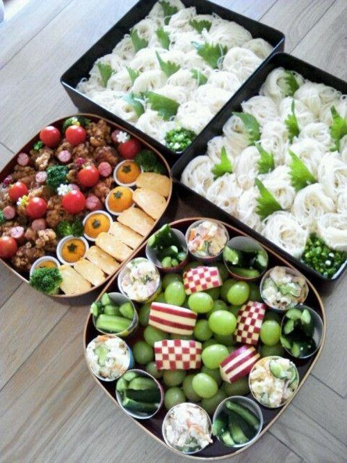 朝の準備も楽チン♡運動会はパパっと作れる「麺弁当」でキマリ