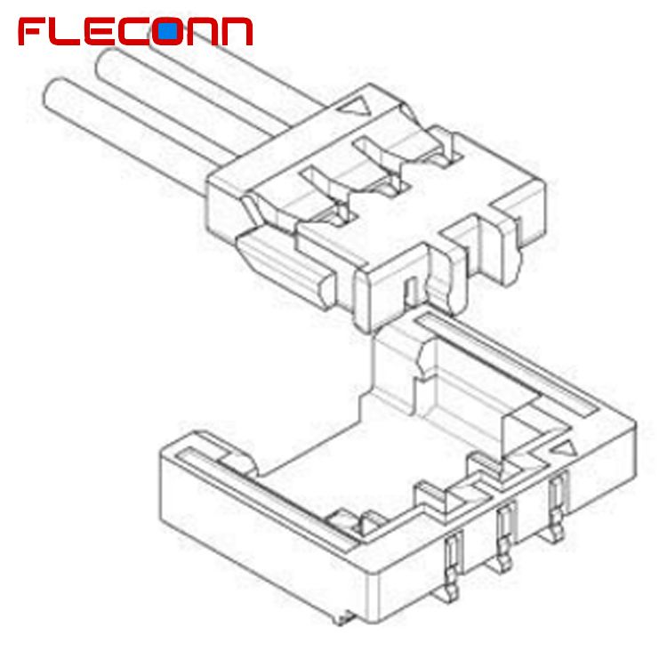 JST 1.2mm Pitch ACHFR-03V-H Connector Wire Harness