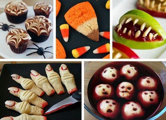 Halloween Treats Snacks Recipes Ideas Halloween Crafts, recipes - halloween baked goods ideas