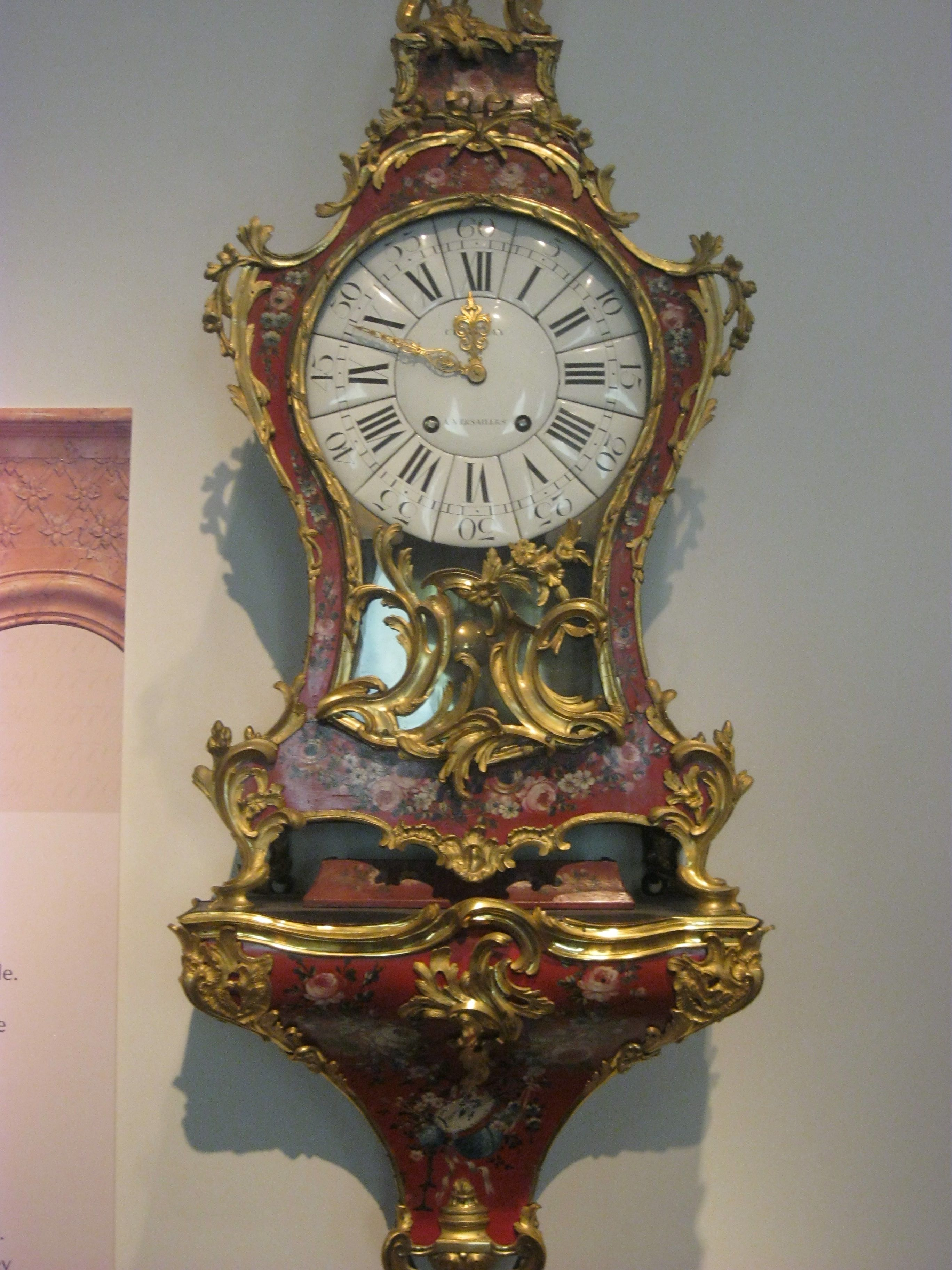 The rococo clock the rococo clock was a decorative style for Rococo decorative style