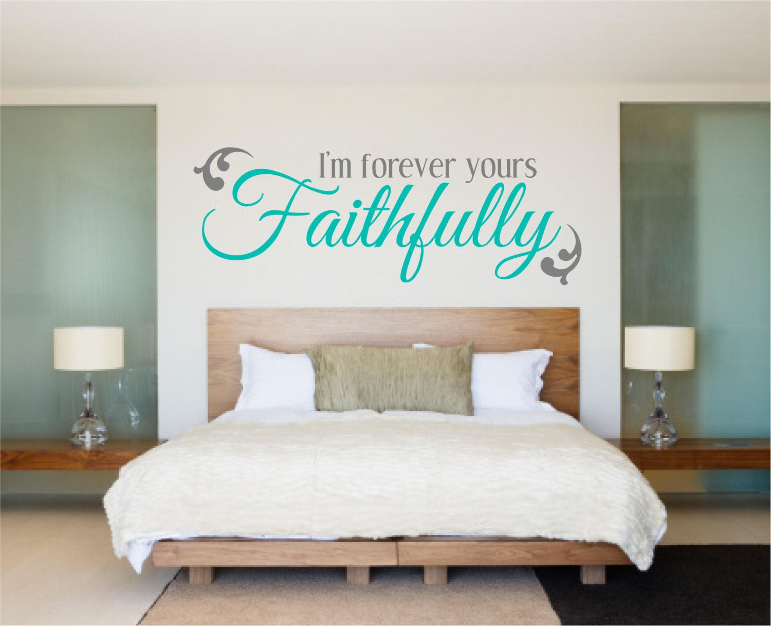 Bedroom Decal Bedroom Wall Decal Love Decal Iu0027m By Luxeloft, $19.00