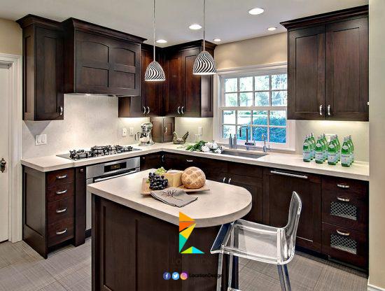 أعثر على تصميم المطبخ الذي يتناسب مع ذوقك و تصفح احدث اشكال و افكار المطابخ الجديدة لعام 2018 Kitchen Design Small Kitchen Remodel Small Kitchen Remodel Design