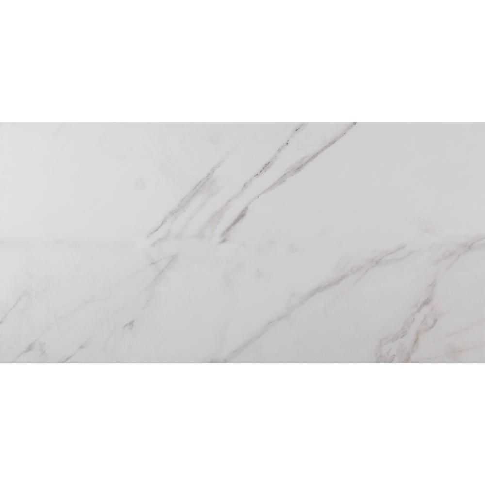 Home Decorators Collection 30 in. x 30 in. Carrara Polished
