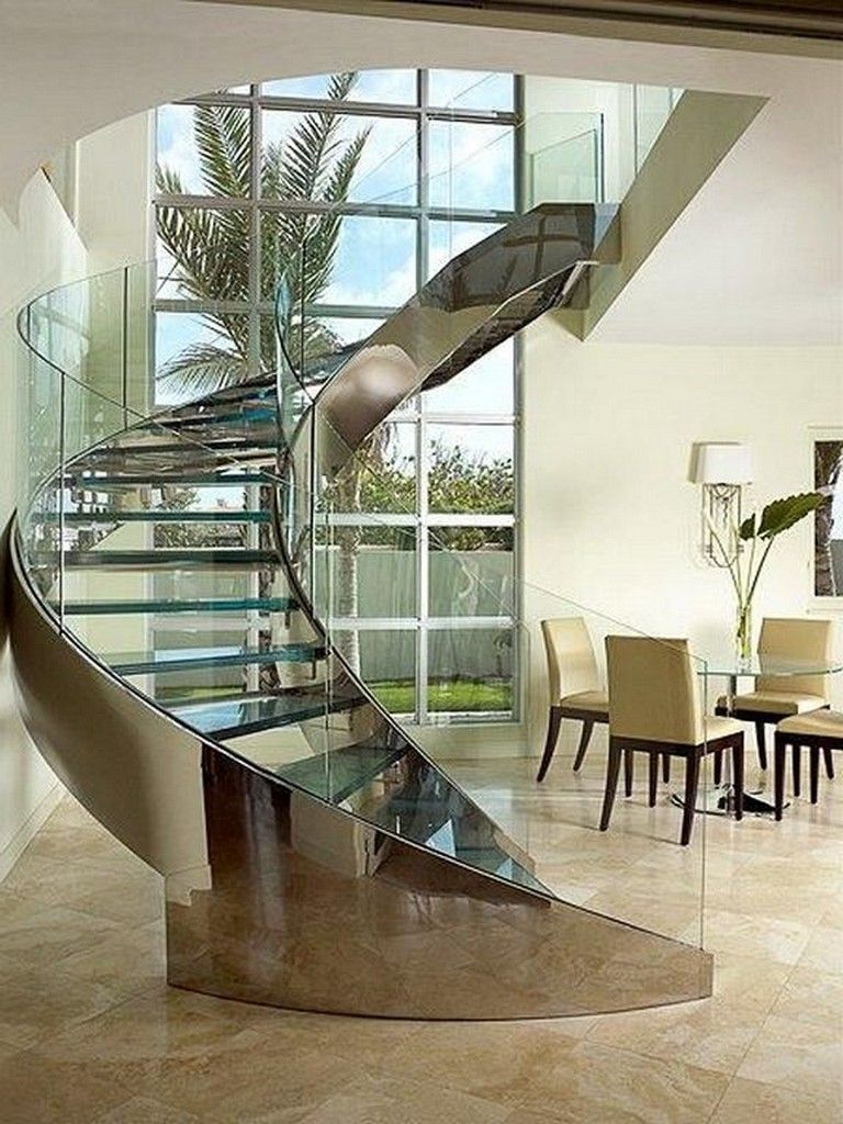 22 Stunning Modern Art Deco Staircase Designs For Your Classy