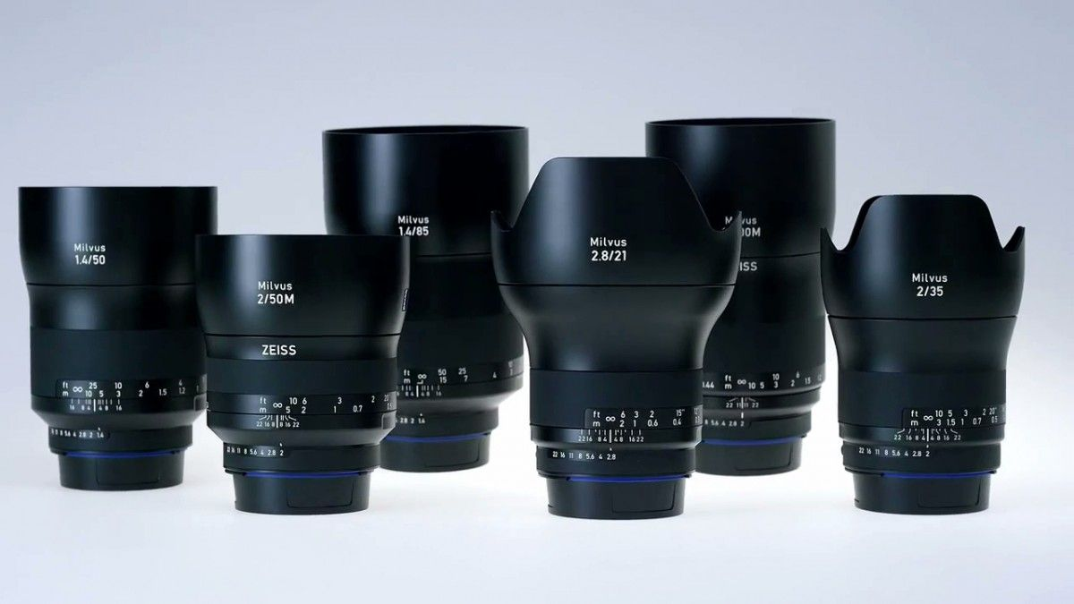 New Zeiss Milvus Full-Frame Lens Family Has Canon or Nikon Mounts ...