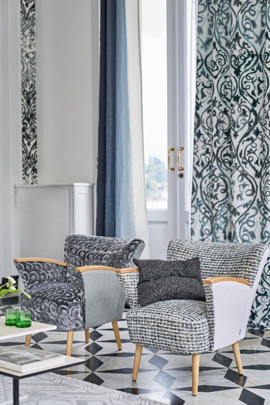 See Tricia Guild's Latest Fabric, Wallpaper And Home