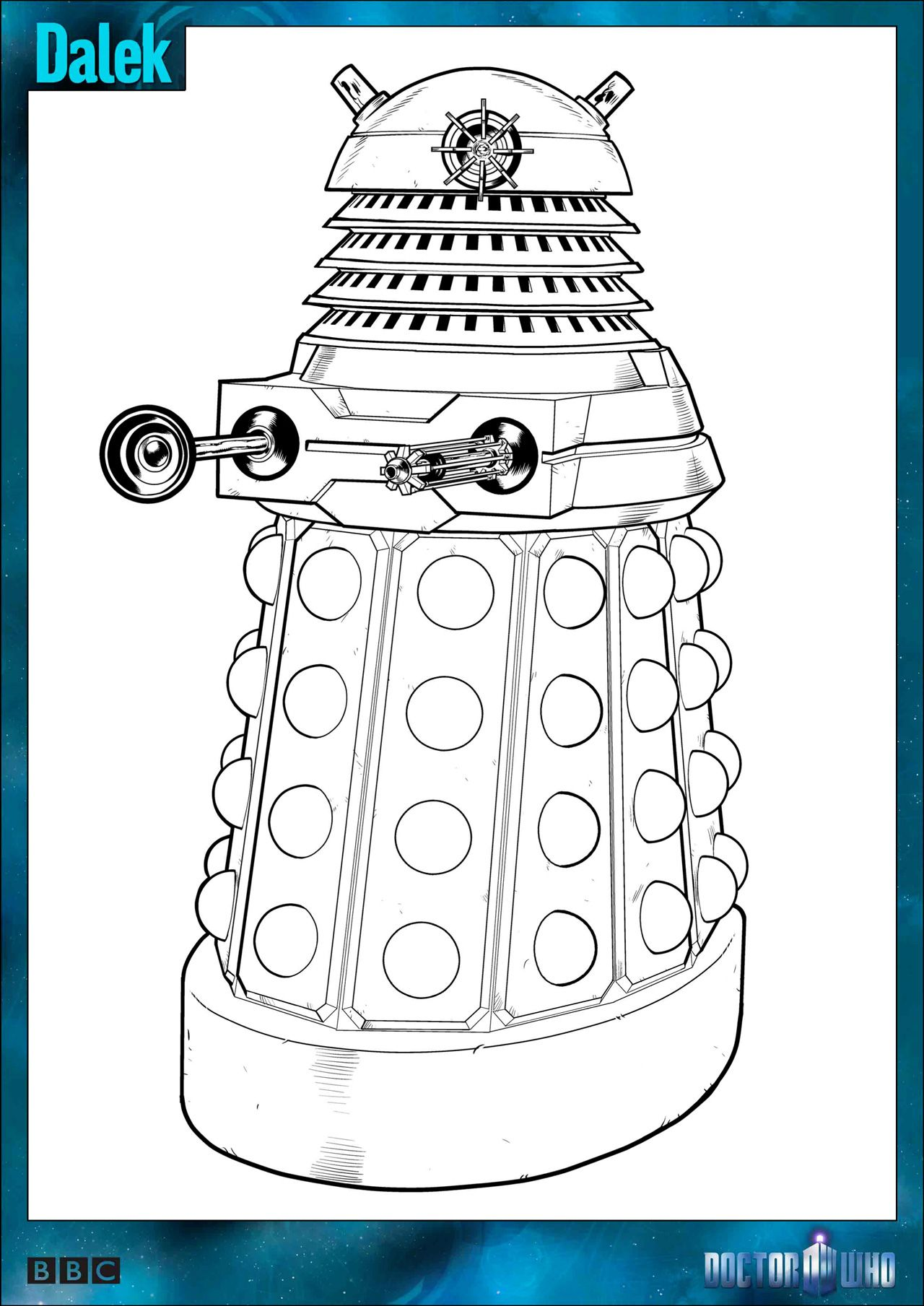 Official Doctor Who Tumblr Doctor Who Colouring In Packs arent
