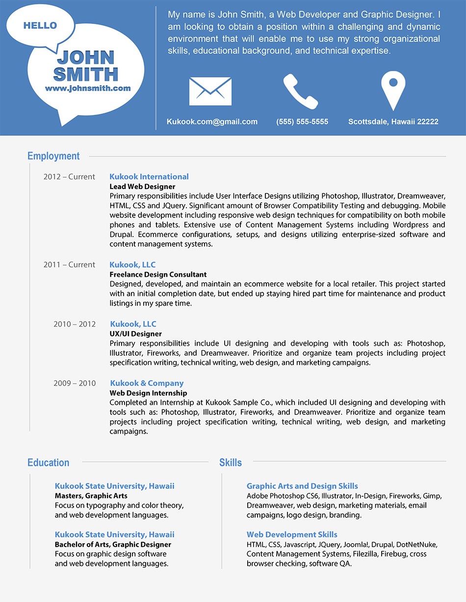 creative bartender resume google search - Example Of Modern Resume