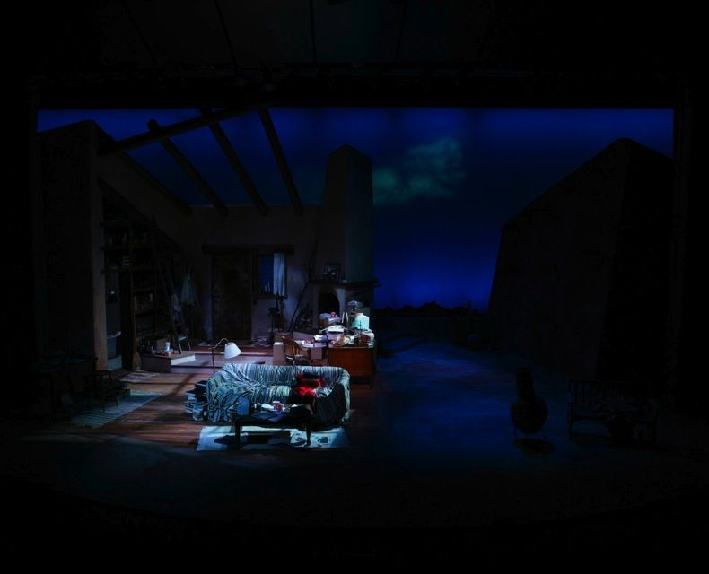 Stage design ice breaker new rep theater watertown ma