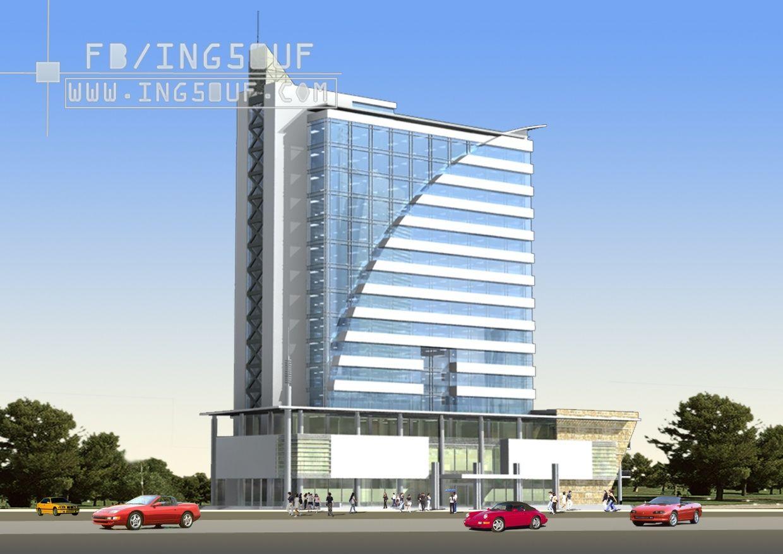 مخططات معمارية مبنى مكاتب ادارية Vnpt اوتوكاد Dwg مخططات معمارية مبنى مكاتب ادارية Vnpt اوتوكاد Dwg Architecture Design Architecture Skyscraper