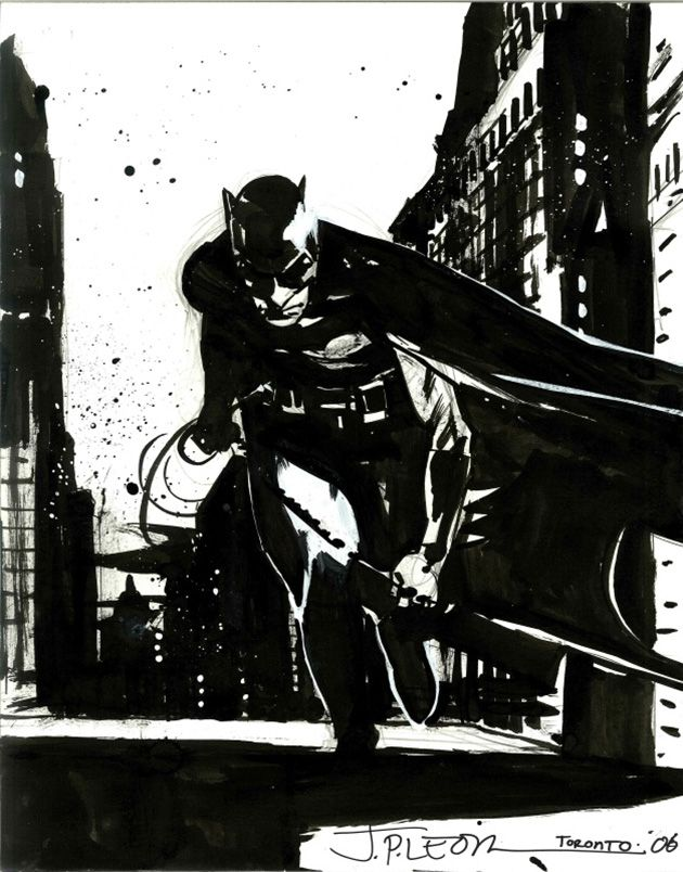 Batman by John Paul Leon