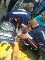 # Noticiário de Hoje #: JACOBINA: Mulher sofre fratura numa colisão entre ...