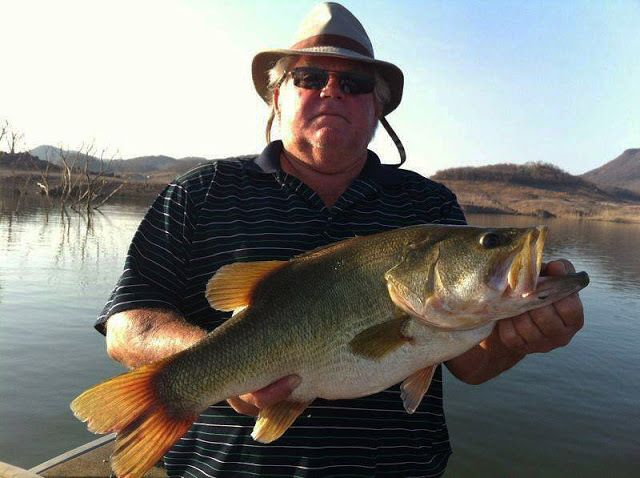 Lake Baccarac Bass Hitting Big Crankbaits. You have to fish hard but as you can see it's worth it!