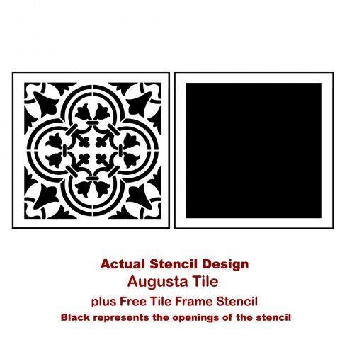 Augusta-Tile-stencil-design-Actual.jpg 490×490 pixels