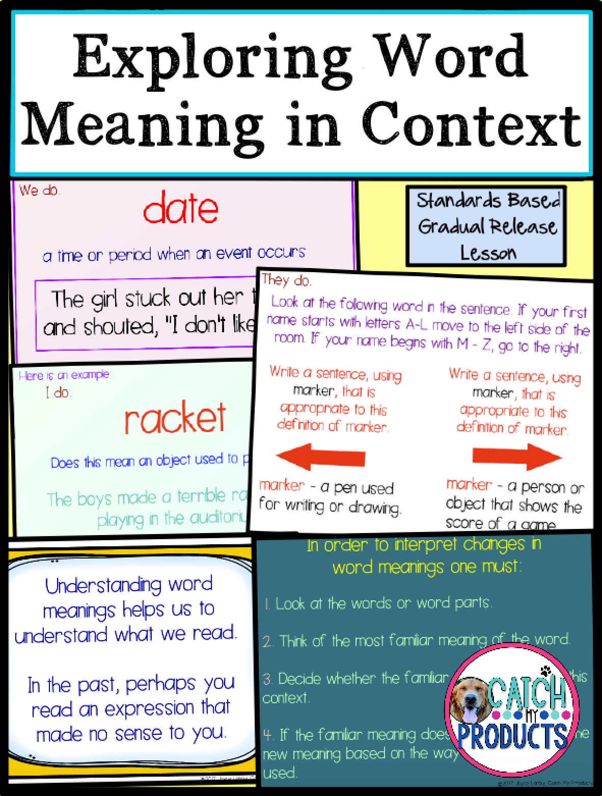 Word Meanings Context Clues Powerpoint