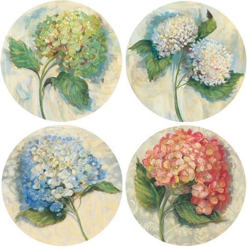 Hydrangeas - Drink Coaster Sets by CoasterStone
