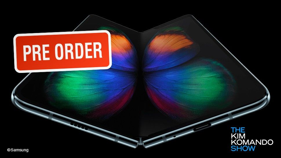 Samsung Galaxy Fold pre order date and how to get one