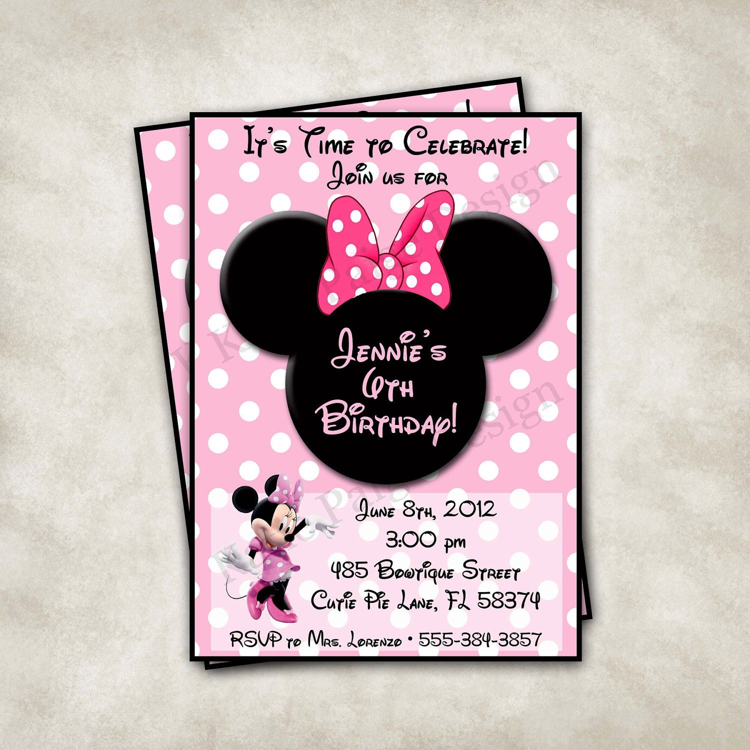 Image detail for printable customized invitation minnie mouse image detail for printable customized invitation minnie mouse birthday party filmwisefo