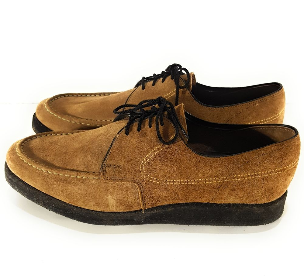 Hush Puppies Pigskin Golf Shoes For Men Size 8 5 Wide Tan Clothing Shoes Amp Accessories Men 39 S Shoes Casual Ebay Shoes Mens Golf Shoes Shoes