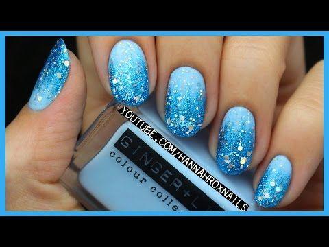 Disney's Frozen Elsa Inspired Nail Art (EASY!) - YouTube - Disney's Frozen Elsa Inspired Nail Art (EASY!) - YouTube Cute