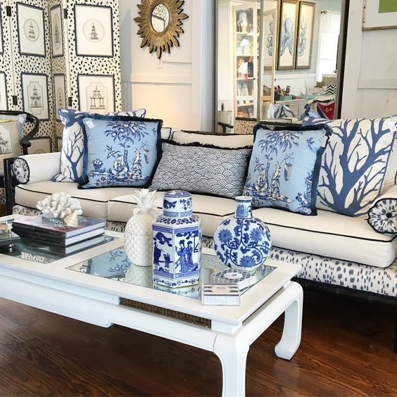 Blue and White Chinoiserie (Chinoiserie Chic)   Blue ...