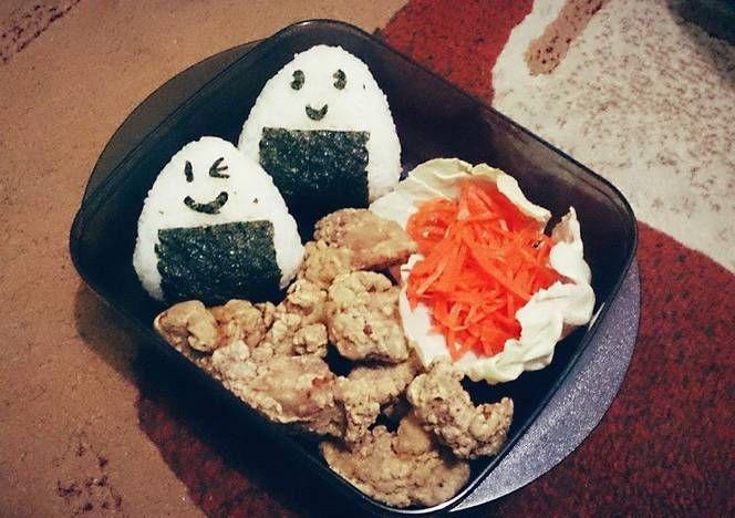 Resep Nasi Kepal Ayam Goreng Onigiri Chicken Karaage Oleh Fyro Resep Makanan Dan Minuman Makanan Ayam Goreng