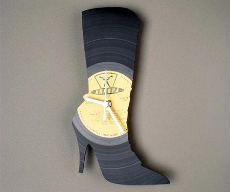 Shoe Wall Clock;Pavel Sidorenko, A Talented Designer From Estonia, Creates  Unique Clocks