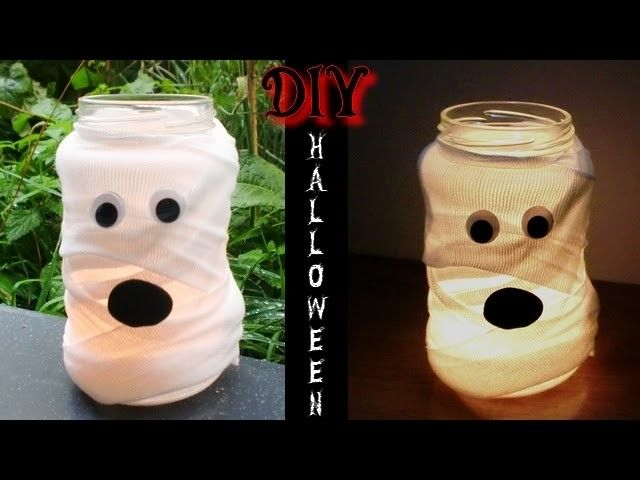 DIY HALLOWEEN Lanterne Momie Halloween Crafts Pinterest Fun - halloween crafts decorations
