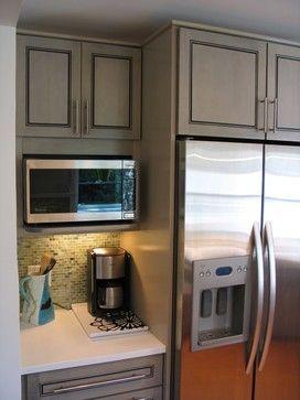 microwave shelf kitchen remodel kitchen