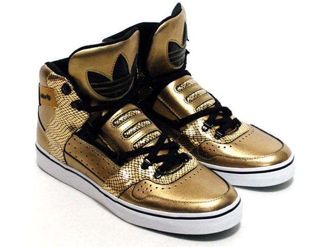Adidas Hardland – Gold/Snakeskin