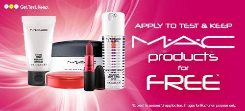 Win £50 Mac Cosmetic Vouchers