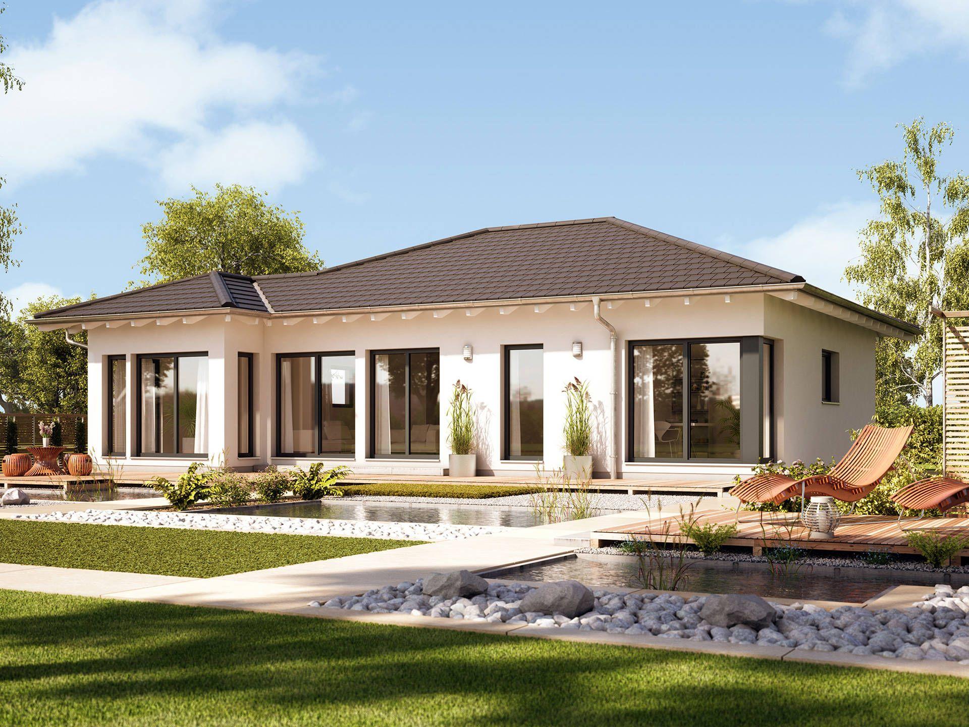 bungalow evolution 100 v6 singlehaus pinterest bien zenker walmdach und musterhaus. Black Bedroom Furniture Sets. Home Design Ideas