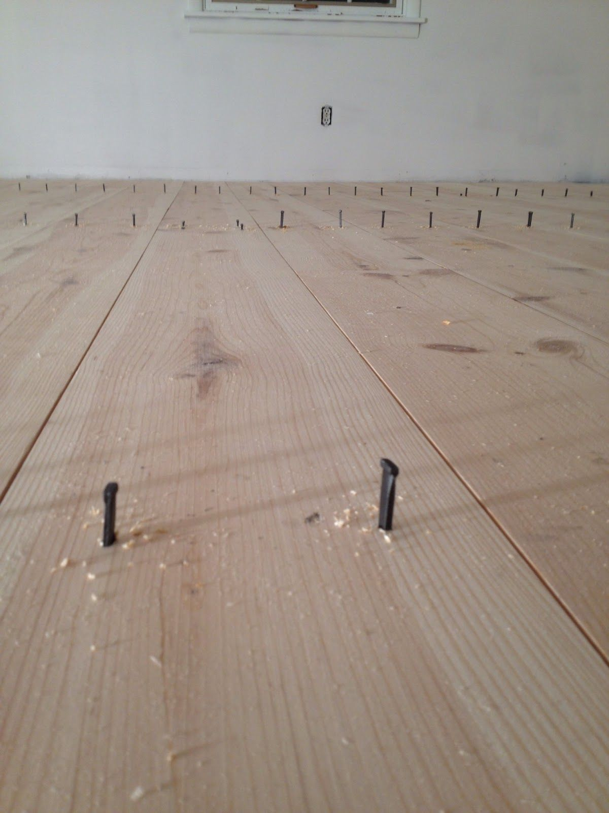 Masonry Nails In Wood Floor For Old Look Masonry Nails Wood Floors Wood