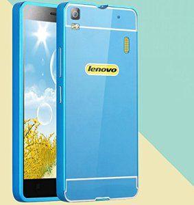 Prevoa LENOVO K3 NOTE Funda  Aluminum Bumper Funda PC Back Case para LENOVO K3 NOTE de 5.5 pulgadas Smartphone