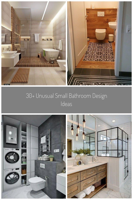 Bathroom Design Inspiration Badezimmer Renovieren Ideen 30 Unusual Small Bathroom Design Ideas In 2020 Badezimmer Renovieren Bad Renovieren Badezimmer Umgestalten