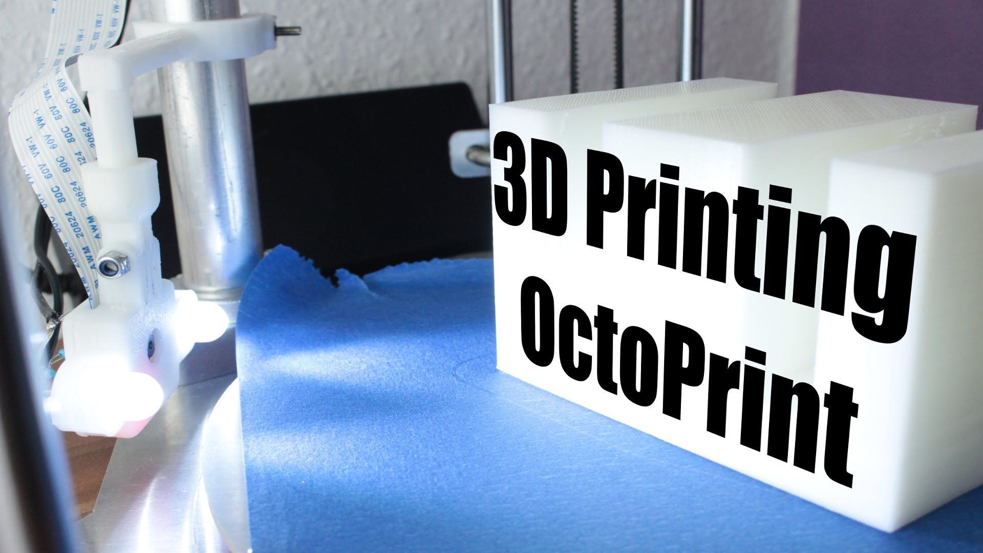 Wirelessly control your 3D Printer - OctoPrint Tutorial - 3D